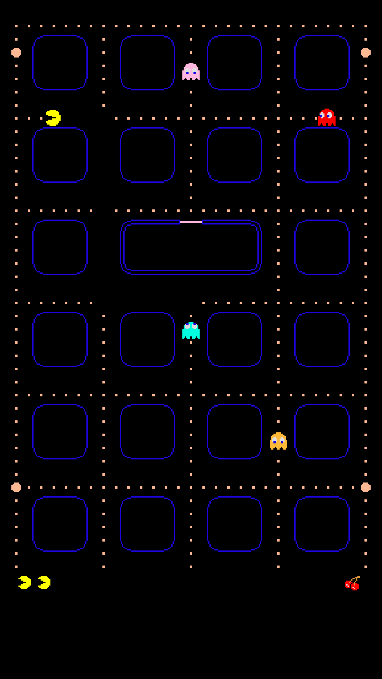 Pac man iphone wallpaper jeffrey carl faden 39 s blog for Wallpaper home screen iphone