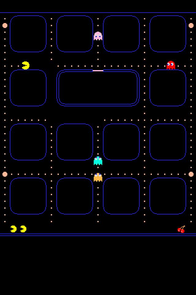 Pac Man IPhone Wallpaper